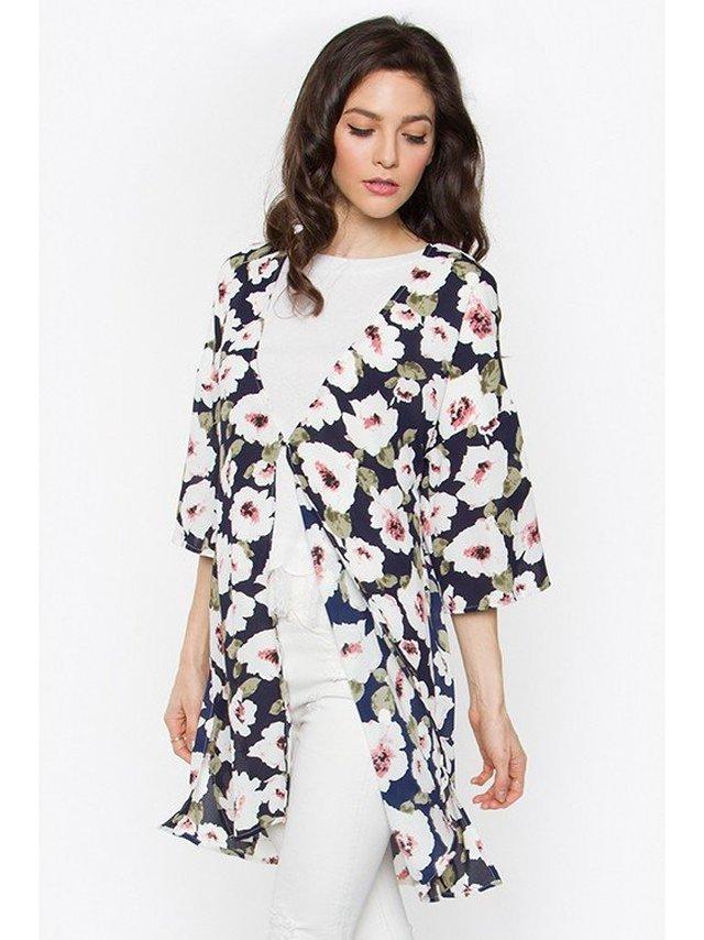 Arcade Attire Kimmy Floral Print Jacket