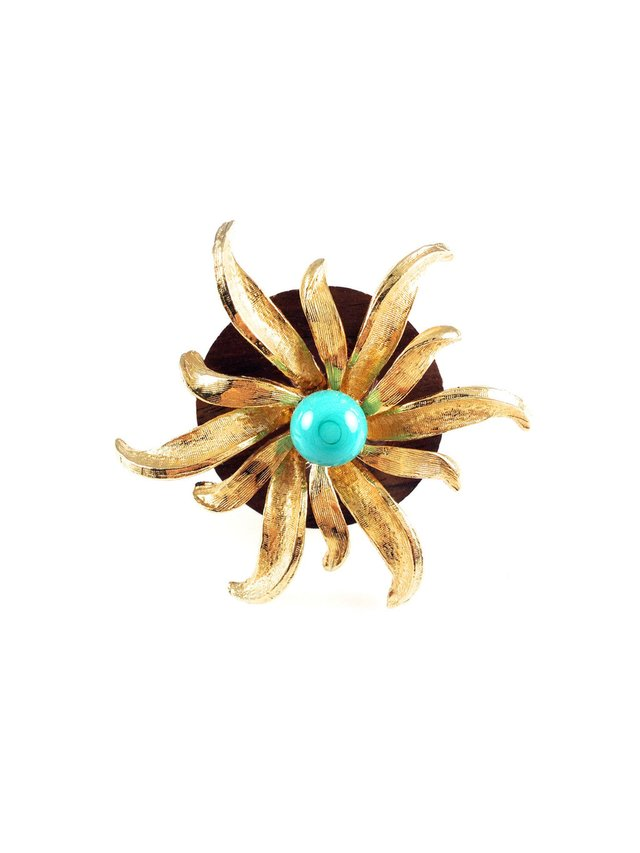 MizDragonfly Sunburst Ring
