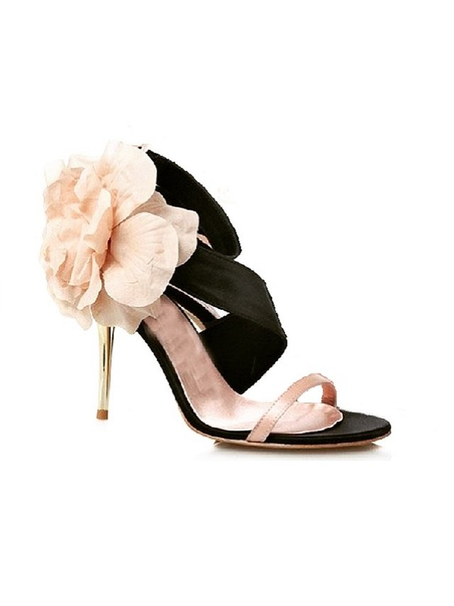 Kari C. Jasmine Rose Gold Evening Sandal