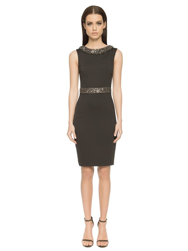 Aloura London Cavendish Dress - Black