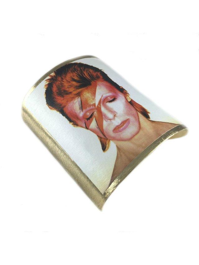 MizDragonfly David Bowie Cuff Aladdin Sane