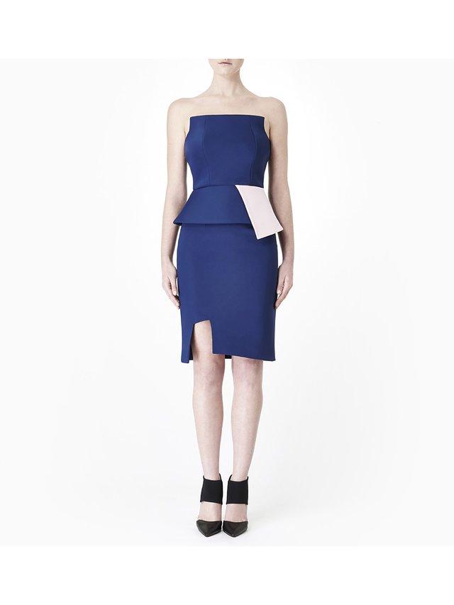 Sarah Bond Femme Fatale Navy Skirt