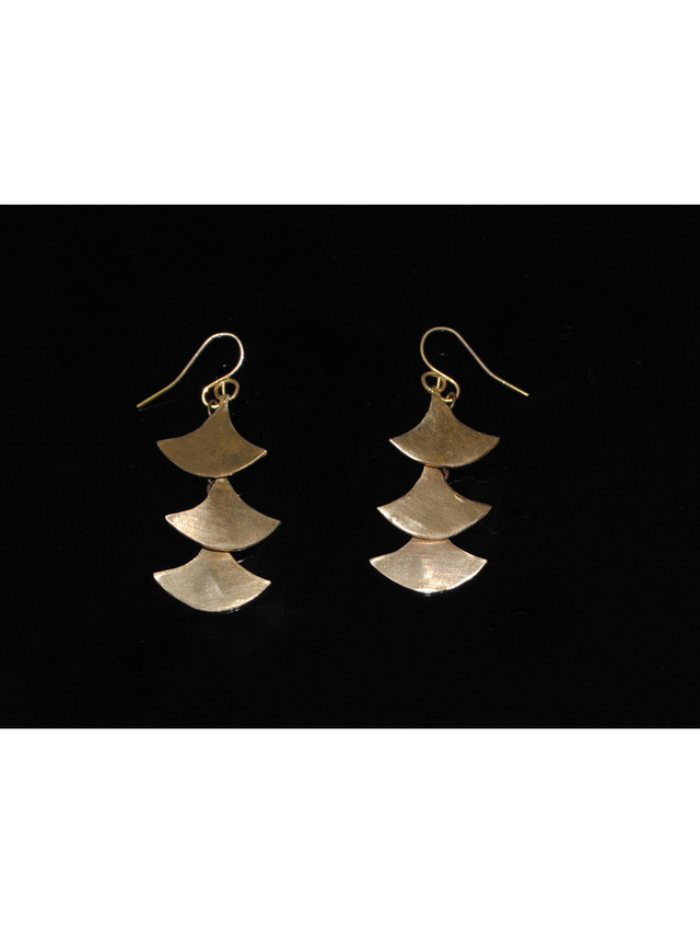 Kemi Designs Pagoda Earrings