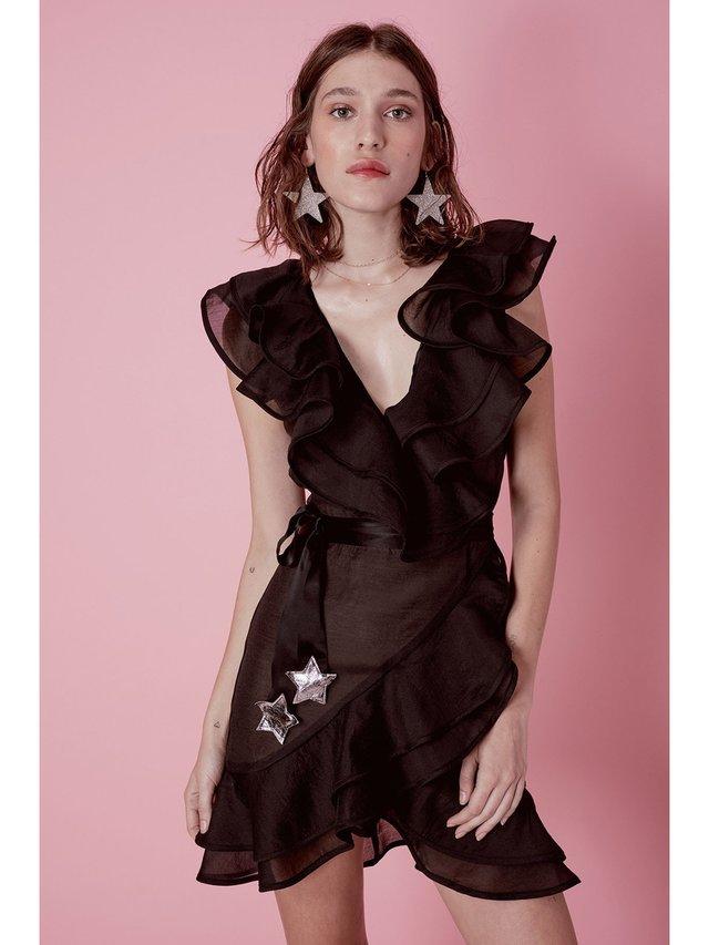 For Love & Lemons Organza Star Dress