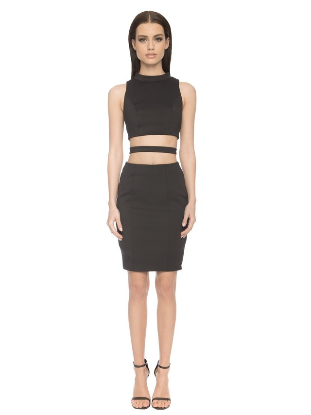 Aloura London Kendal Dress - Black