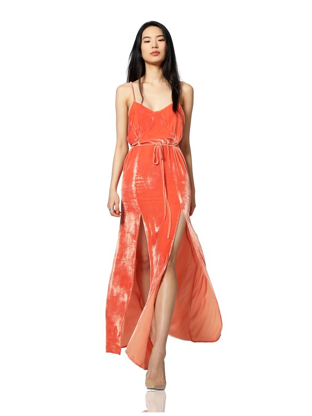 Duchess of Anarchy Bora Bora Sunset Sleeveless Maxi Dress