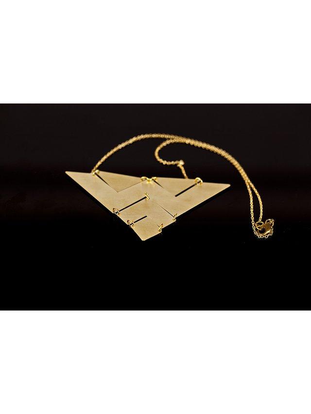 Kemi Designs The Bermuda Triangle Necklace