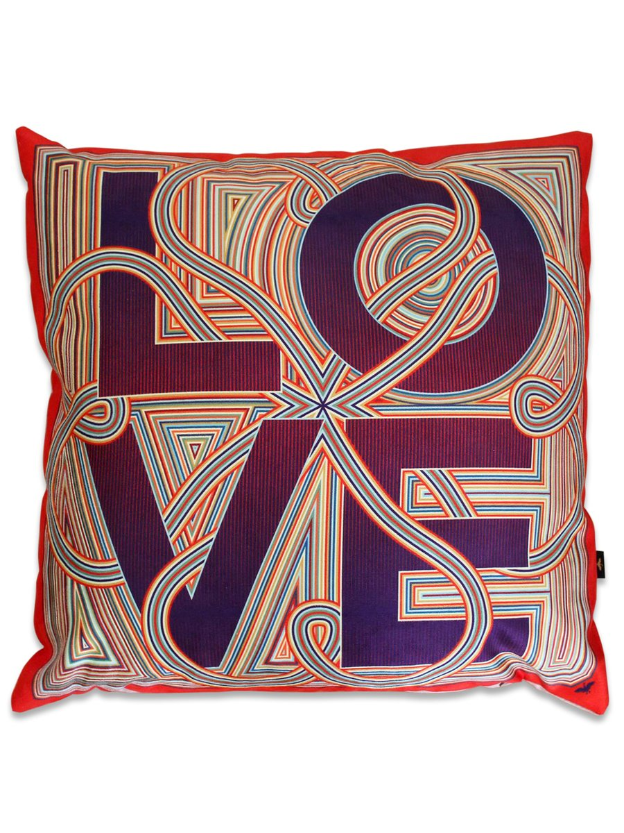 Furious Goose Four Letter Word Cushion – Love