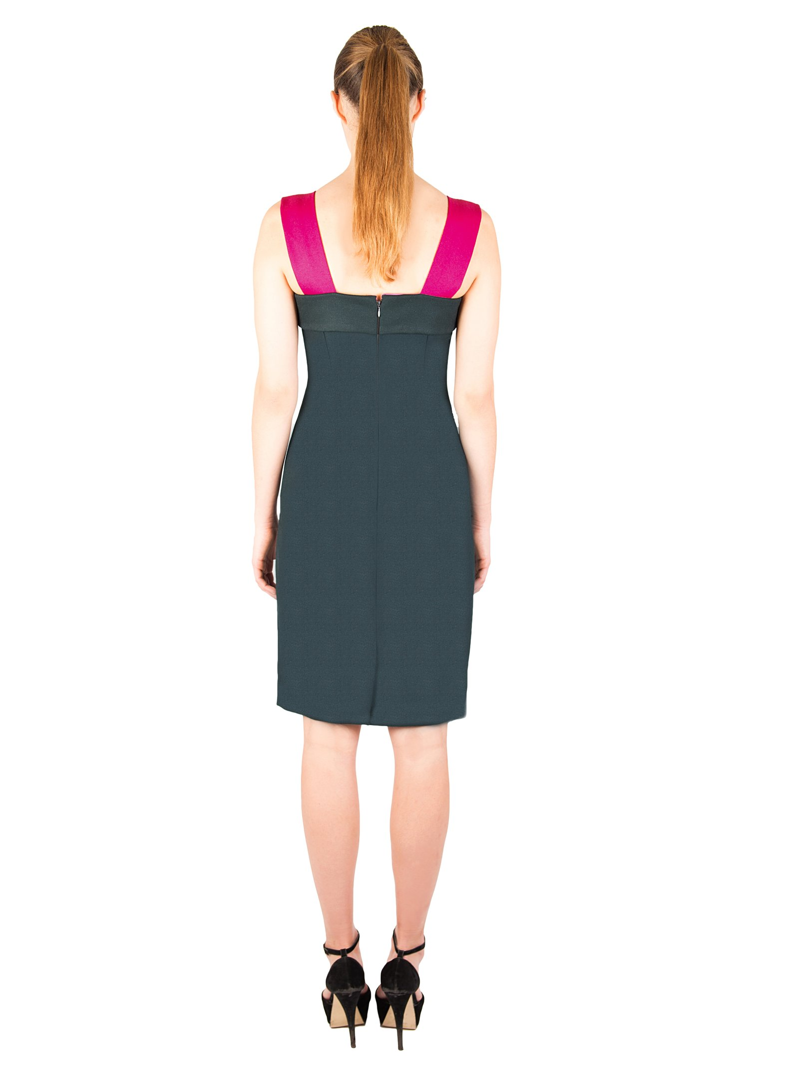 LIZA VETA Merino Wool Pencil Dress