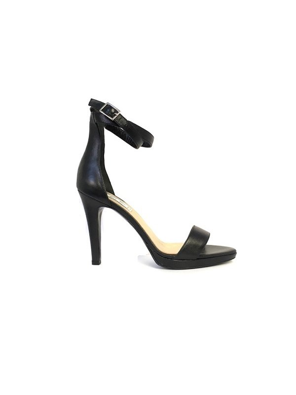 Kari C. Sherry II Black Sandals