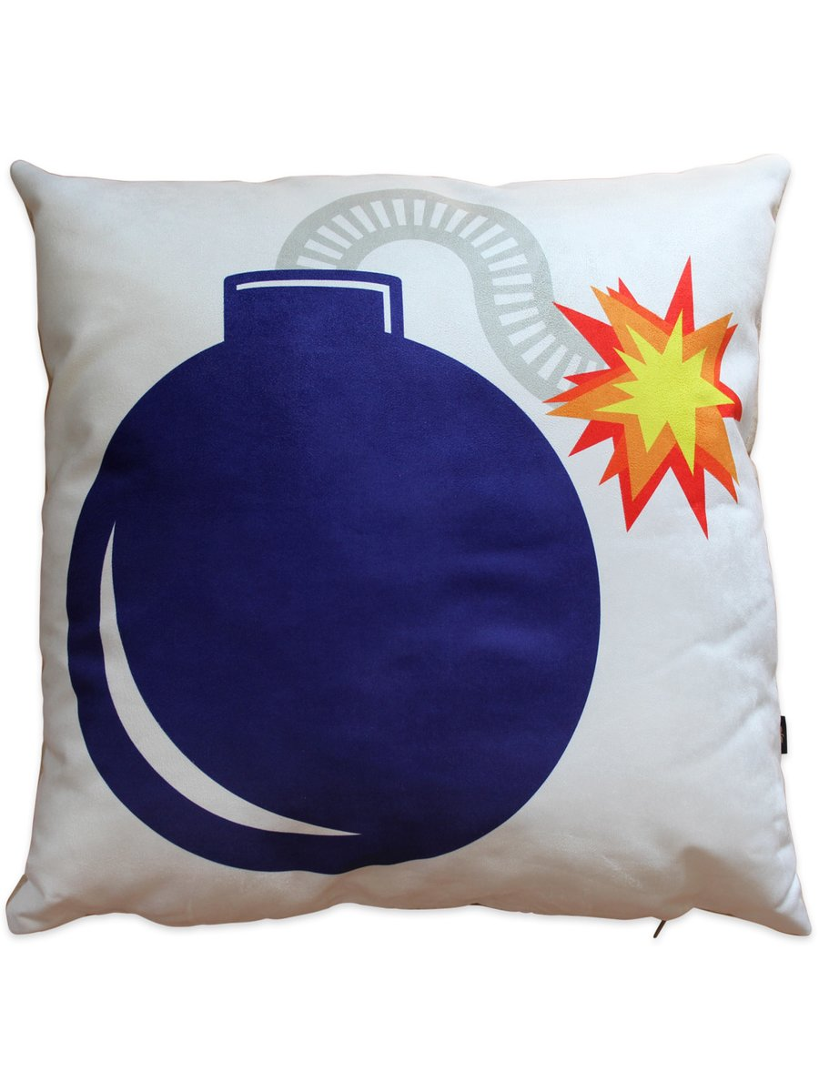 Furious Goose Da Bomb Cushion