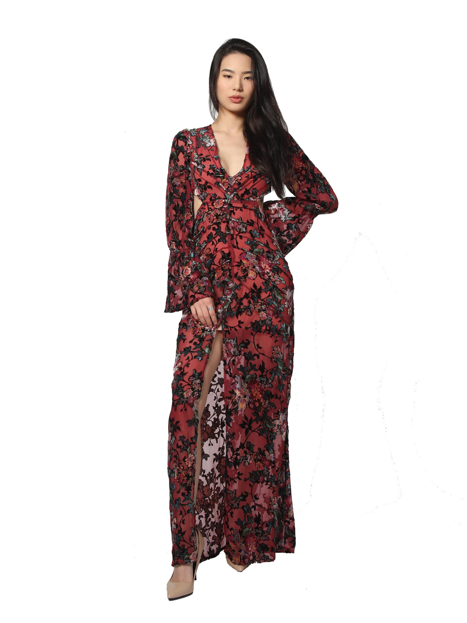 Duchess of Anarchy Capri Maxi Dress