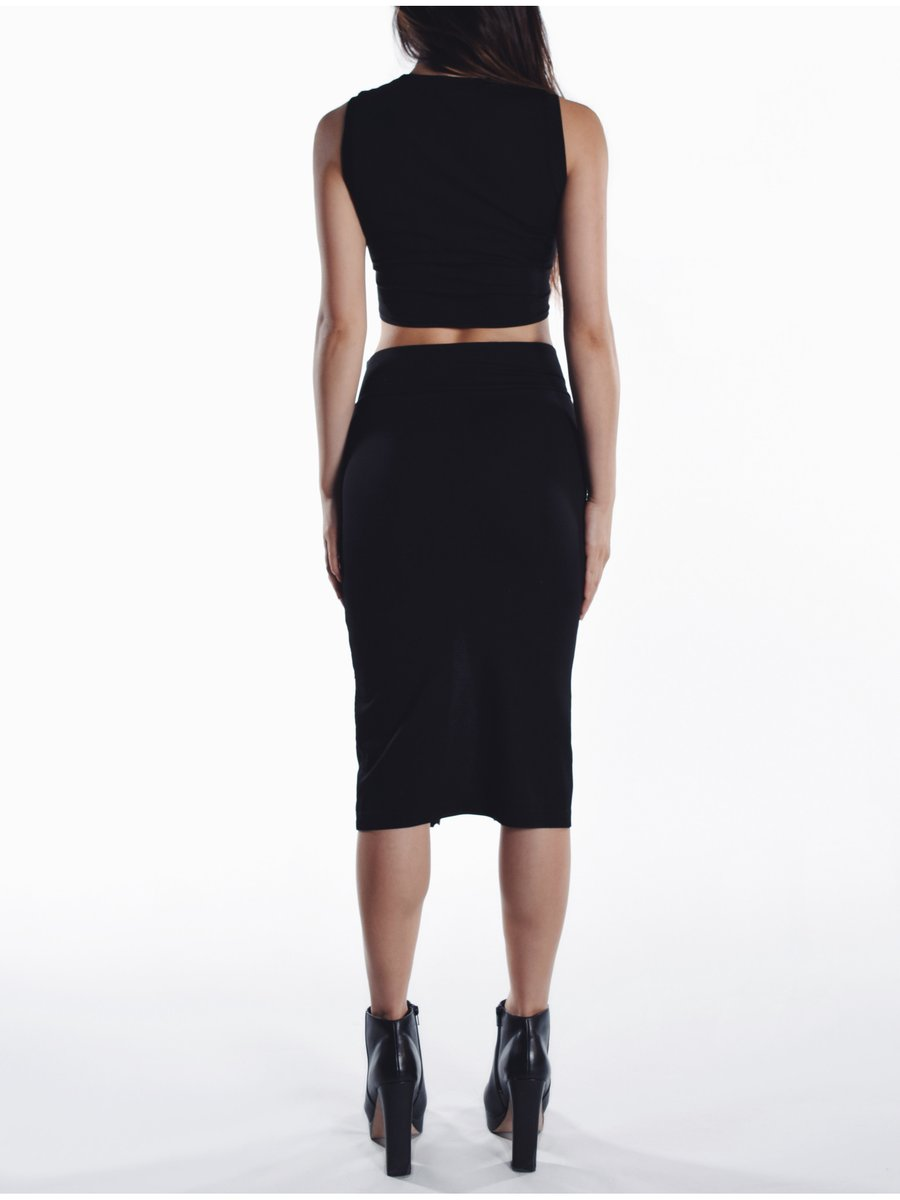 Cara Cheung Ariel Pencil Skirt - Ribbed