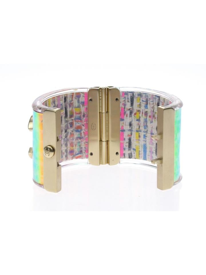 Chanel Chanel Iridescent Tweed Cuff