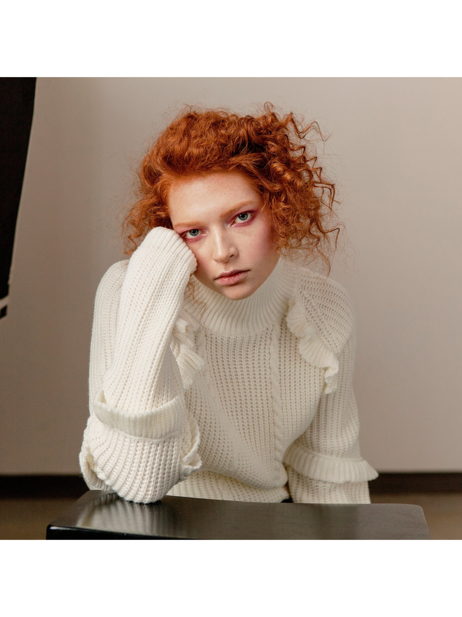Hilary MacMillan Ruffle Sweater