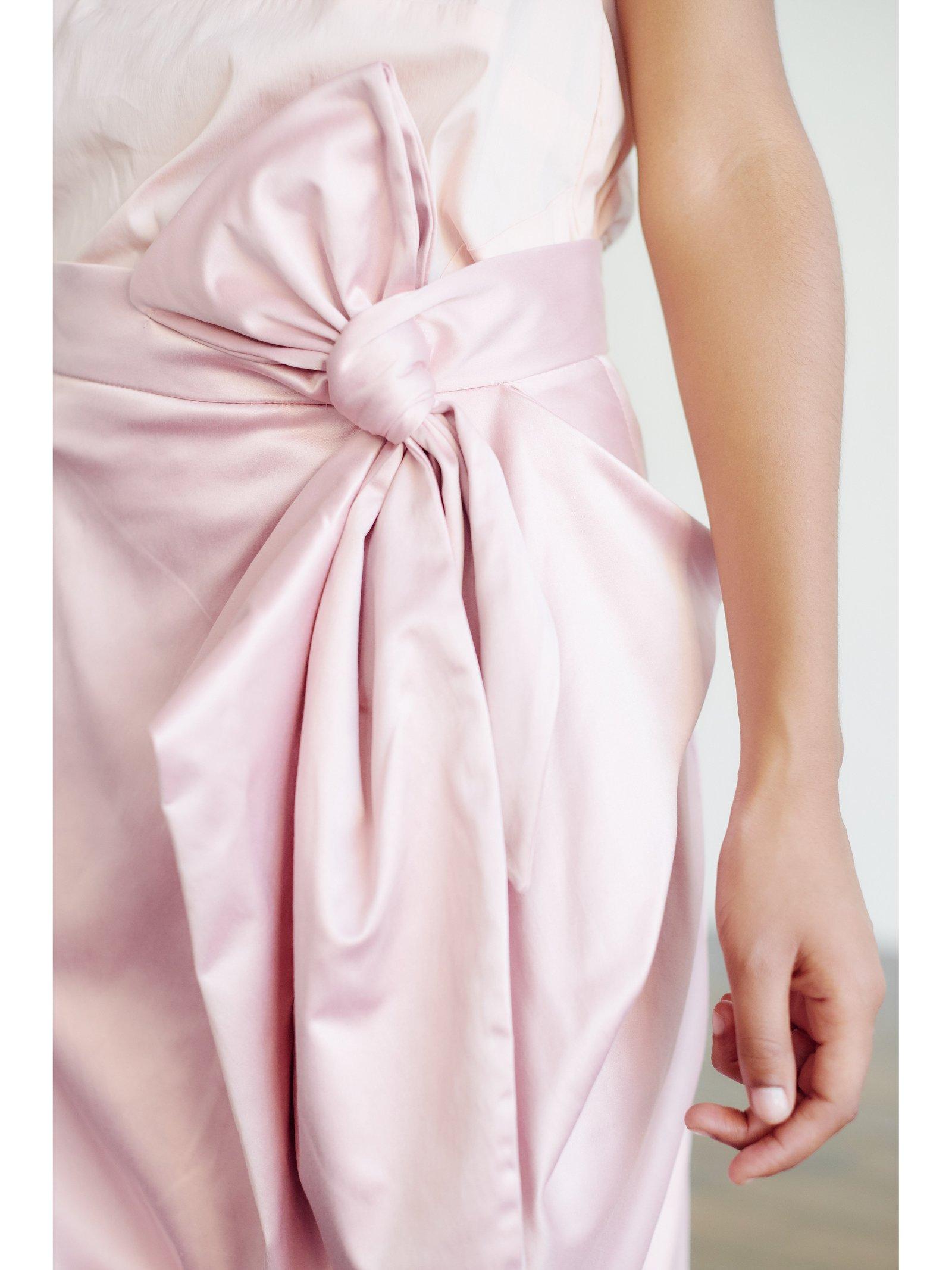 HB By Hanna Baranava Bow Skirt