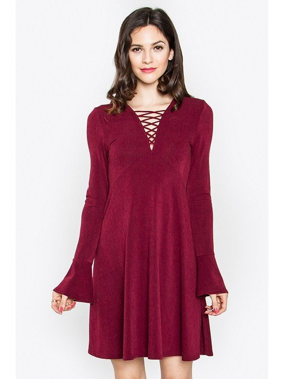 Arcade Attire Kara Lace-Up Dress