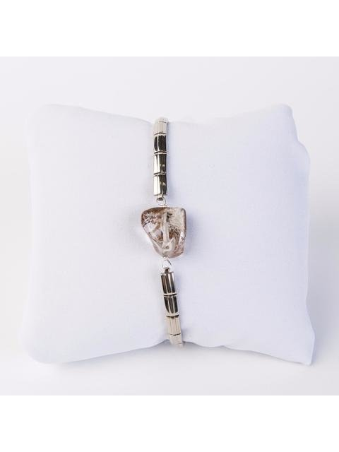 Monoxide Style What Time Is It Mr. Wolf Bracelet - Ghost Stone