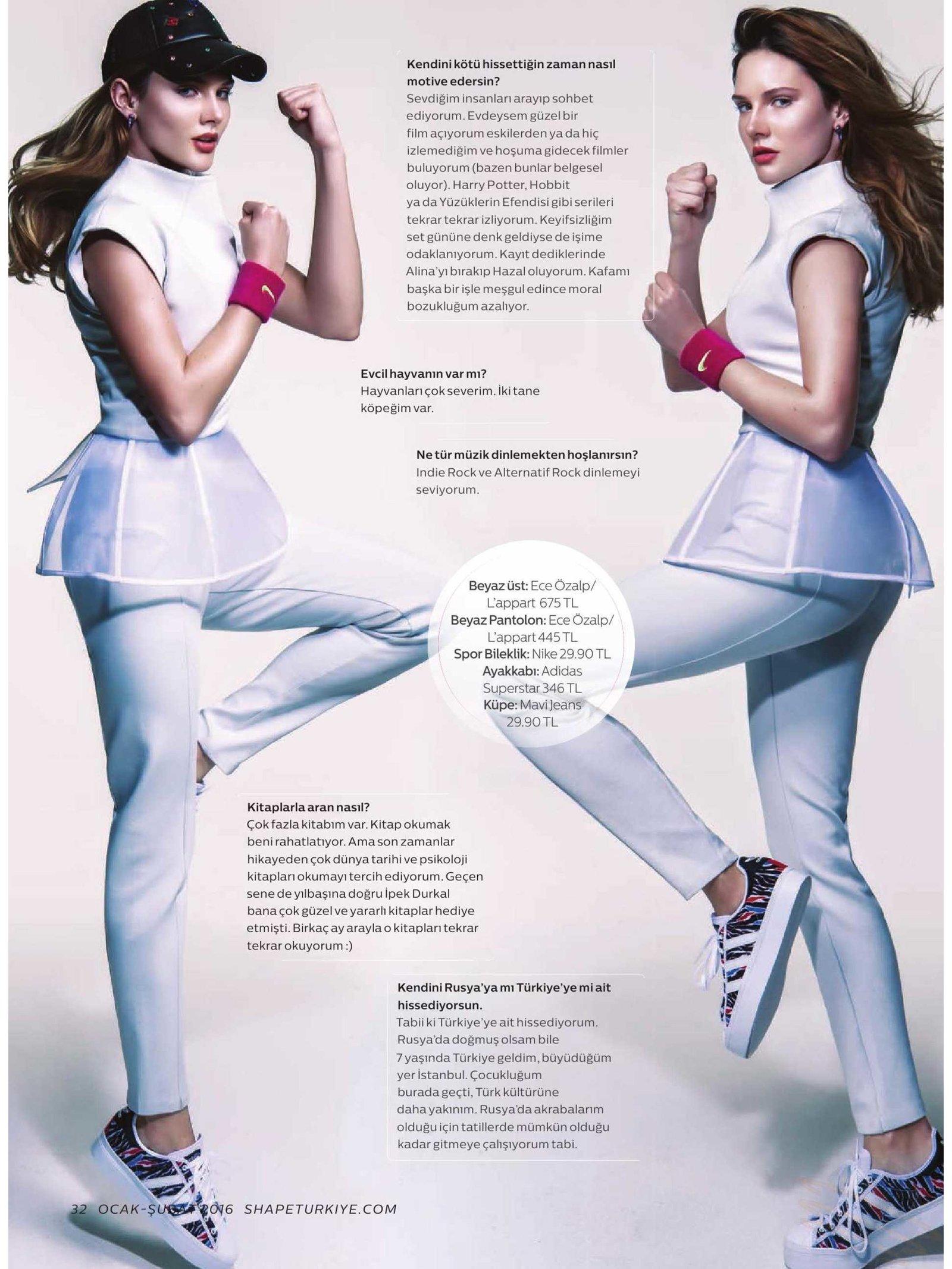Ece Ozalp No:2 – Sport Chic Grey Blouse