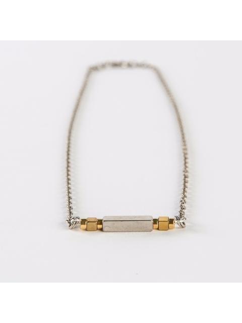 Monoxide Style Aurum Bar Necklace