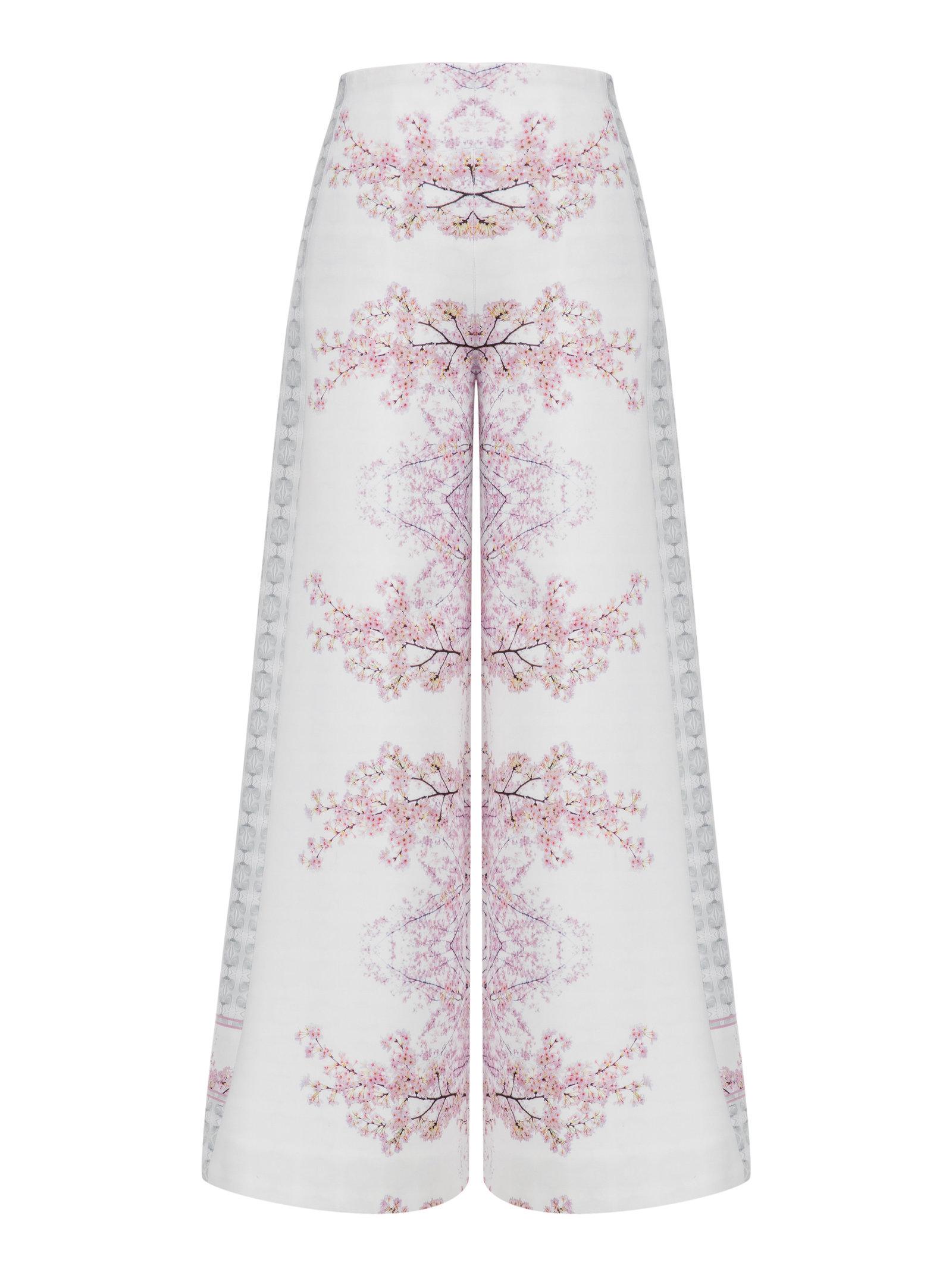 Ece Ozalp Cherry Blossom Pants
