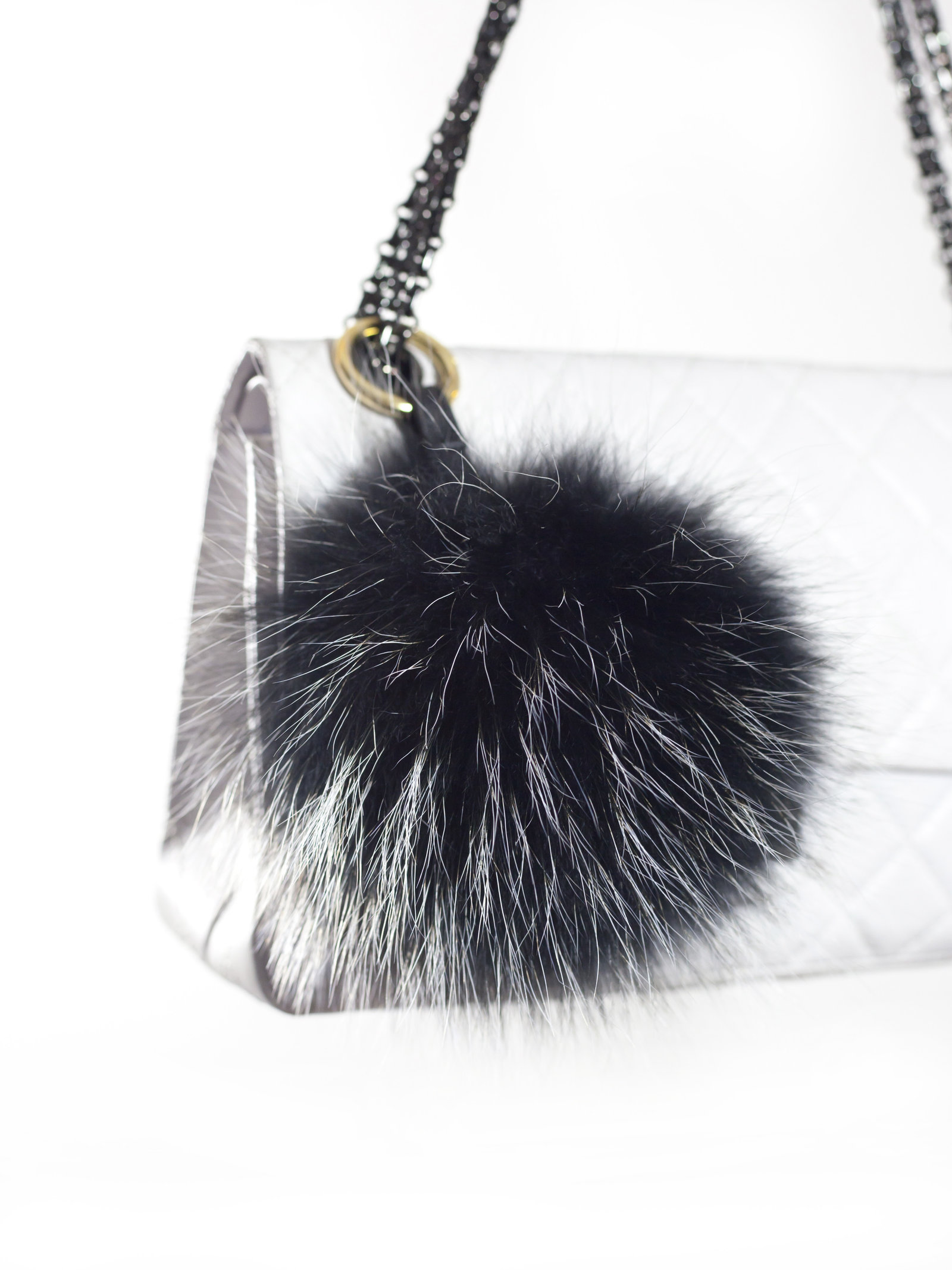 And The Rest Is Stardust Hettienne PomPom Keychain