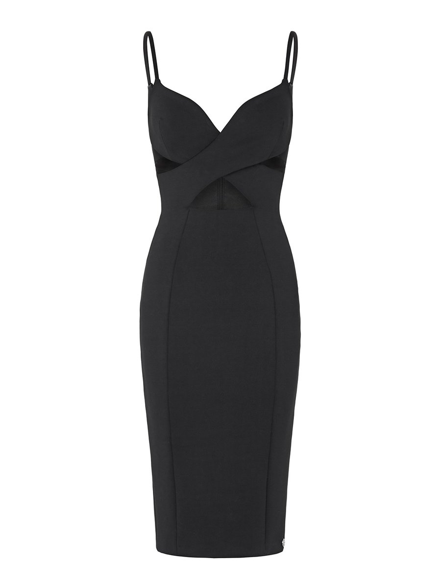 Aloura London Maddox Dress - Black
