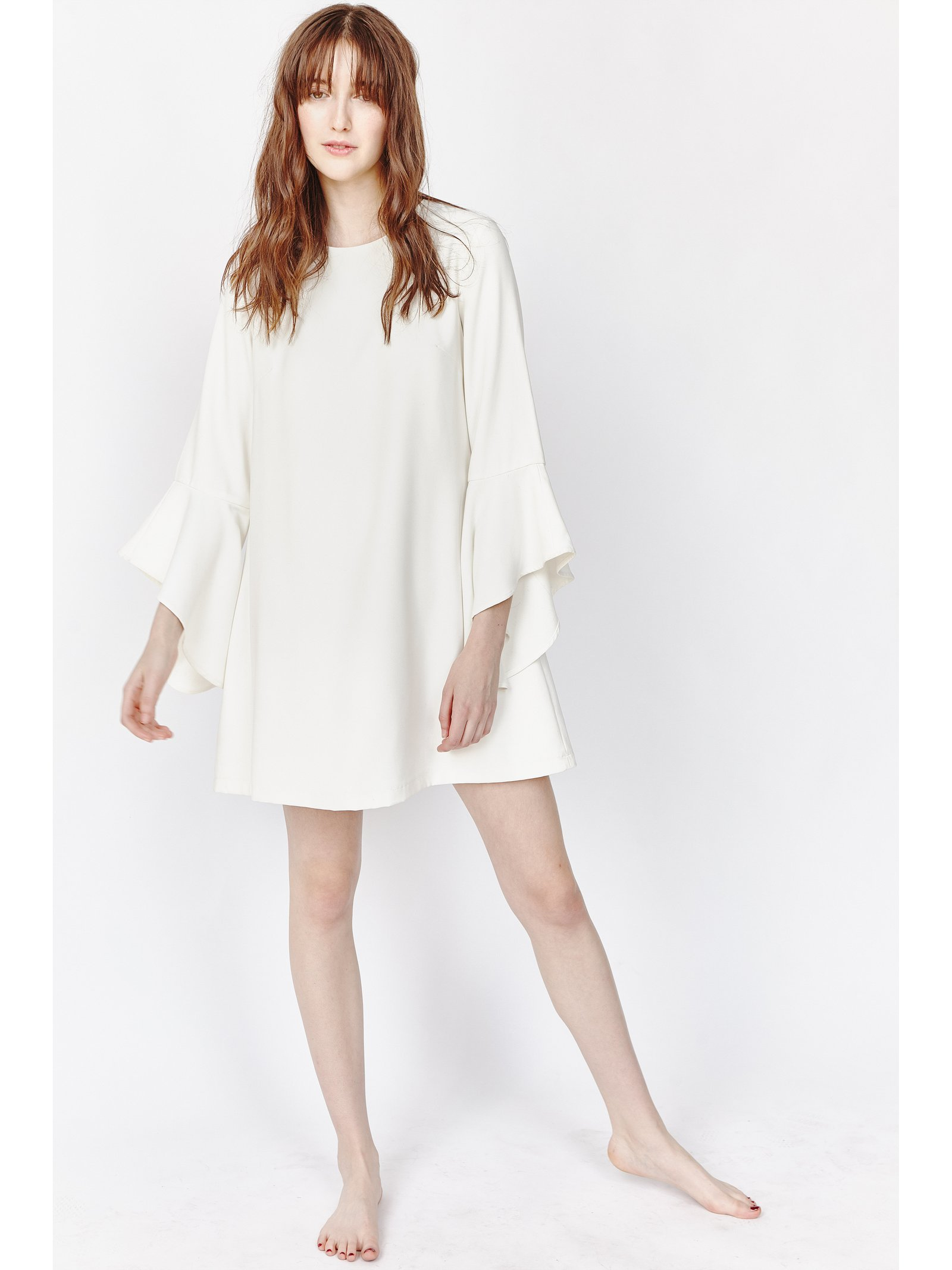 Hilary MacMillan Bell Sleeve Dress