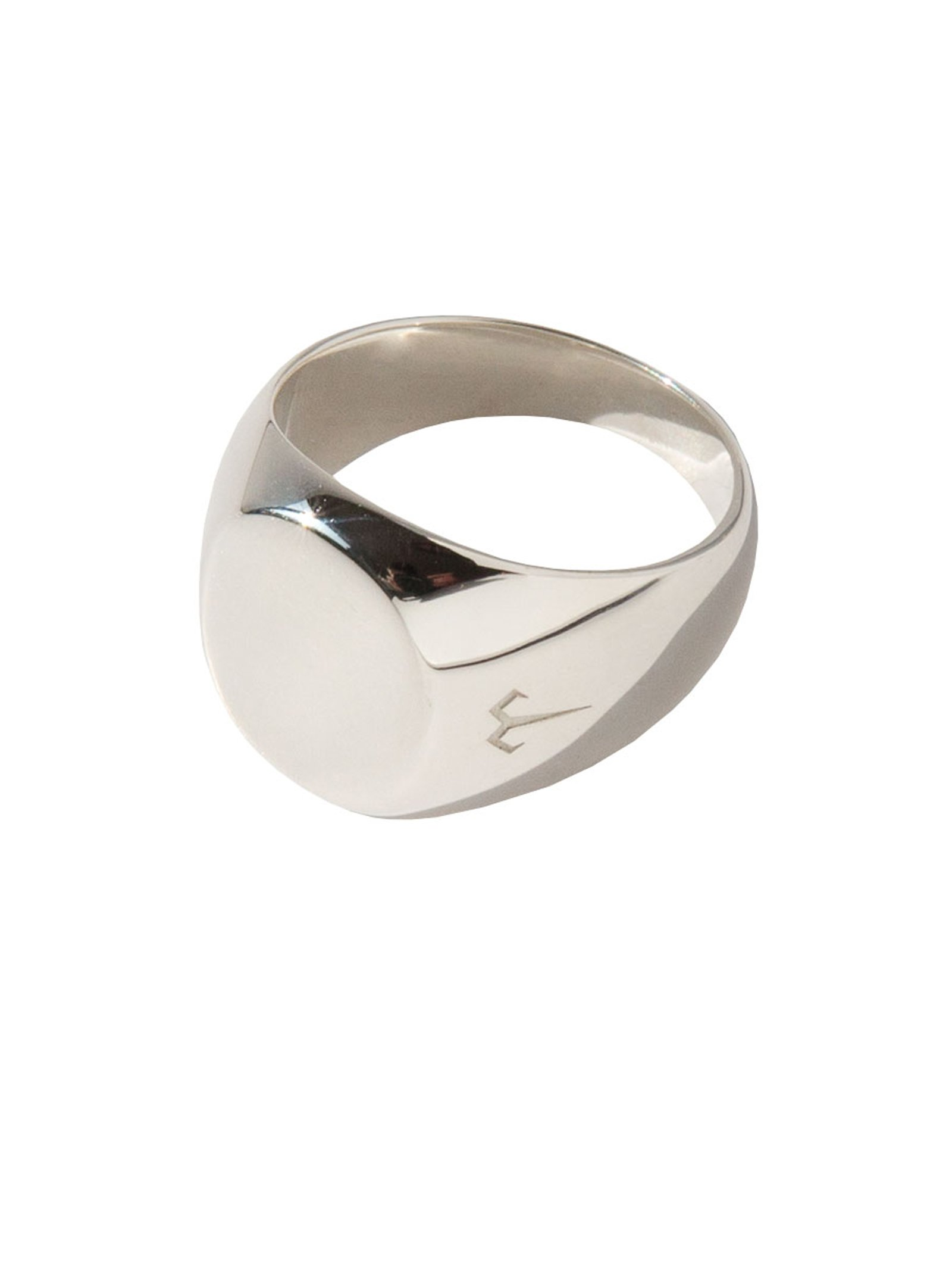 Ternary London TERNARY LONDON SMALL SIZE SIGNET RING SILVER