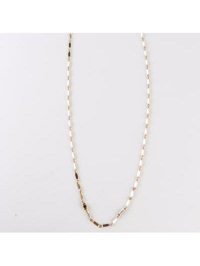 Monoxide Style Aya Layering Chain - Silver