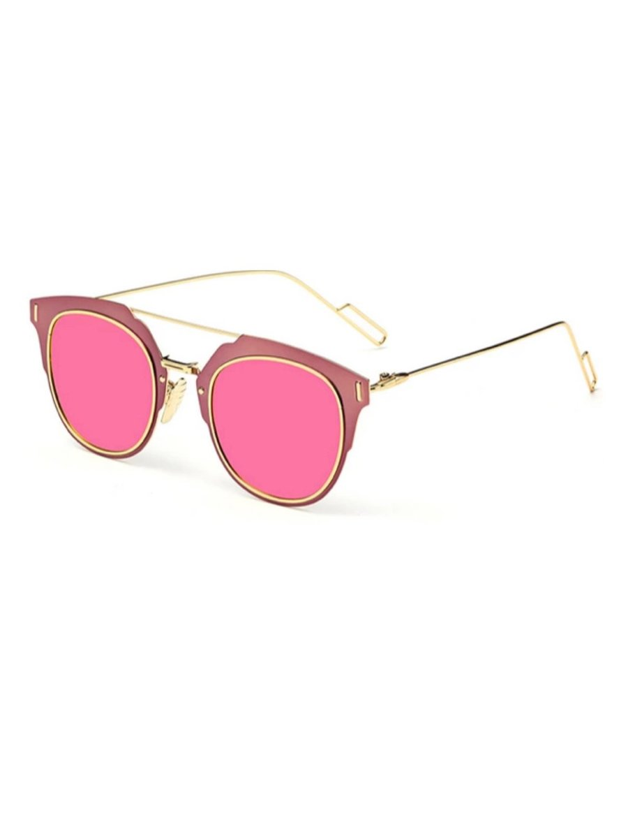 COCONAUTICAL Rainman - Pink Reflective Sunglasses