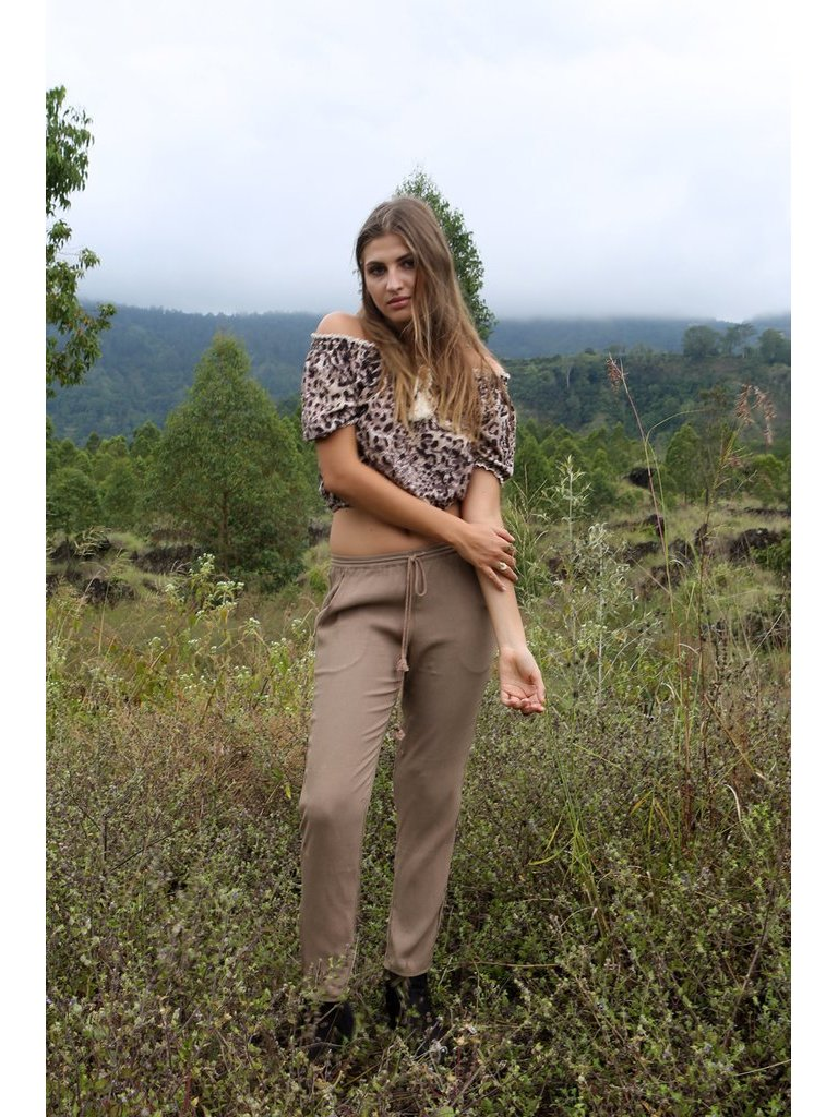 Tulle & Batiste Hunter Pants Moss