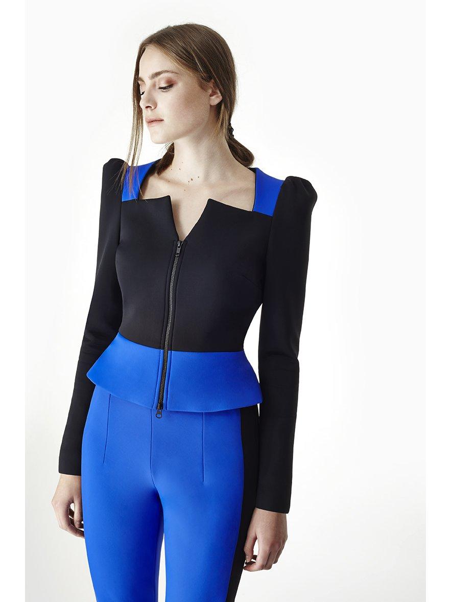 Sarah Bond Power Racer Trousers Blue Black