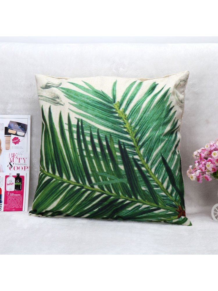 Arcade Attire Tropical Palm Cushion Cover