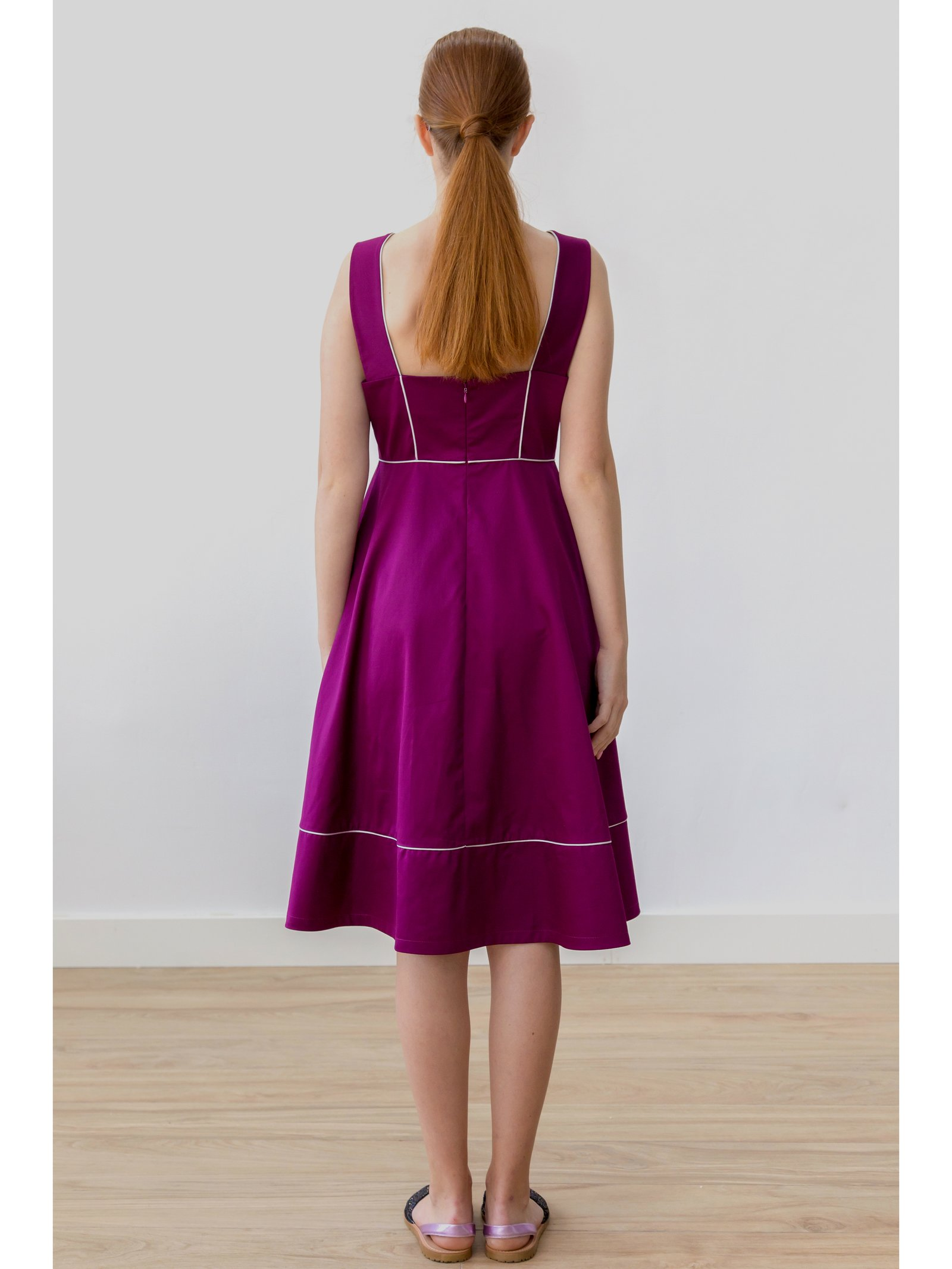 HB by Hanna Baranava Purple Medium Drees