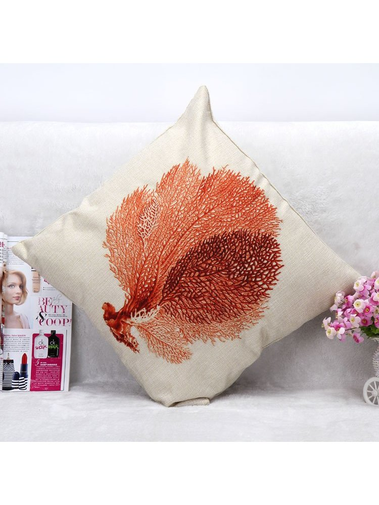 Arcade Attire Tropical Coral Cushion Cover