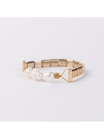 Monoxide Style What Time Is It Mr. Wolf Bracelet - Pearls