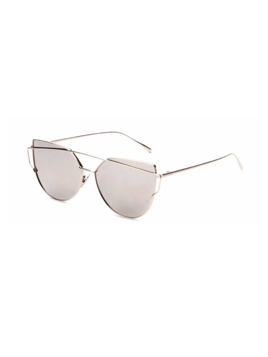 COCONAUTICAL Touché - Silver Reflective Sunglasses