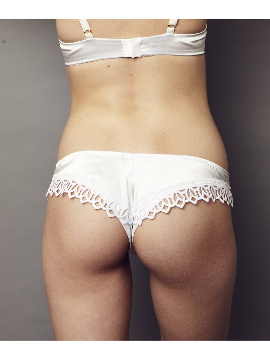 NightProwl Elysium Lace Back Thong Bridal