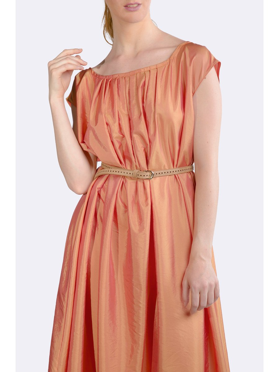 HB by Hanna Baranava Long Orange Dress
