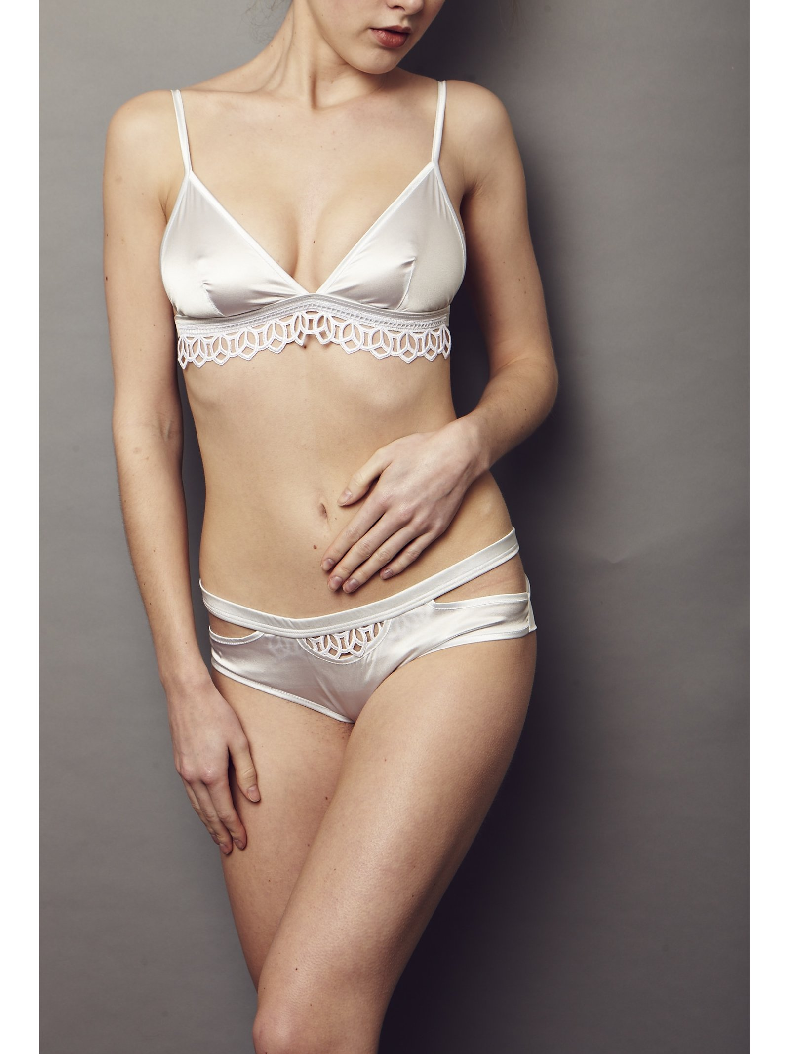 NightProwl Elysium Lace Bra Triangle Bridal