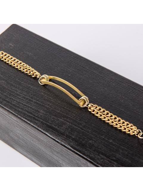 Monoxide Style Geometrix Bracelet - Gold