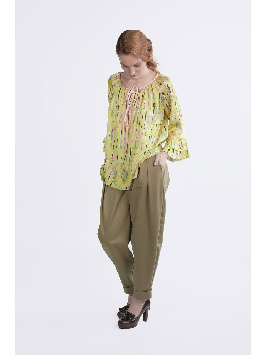 HB by Hanna Baranava Green Shirt