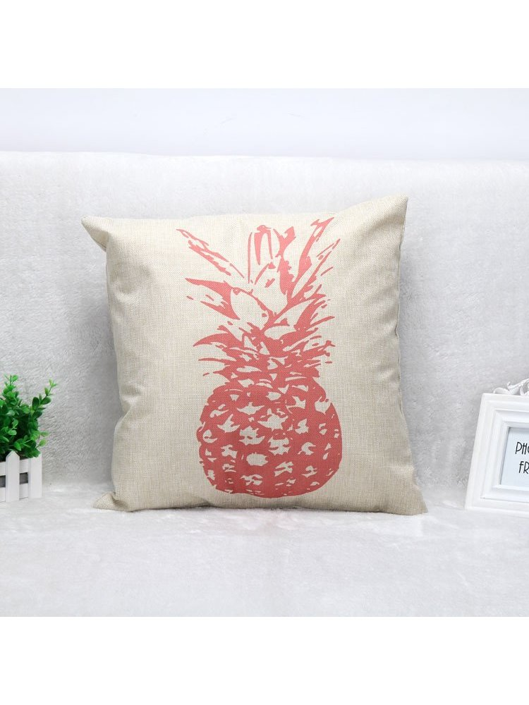 Arcade Attire Pineapple Blend Cushion Cover