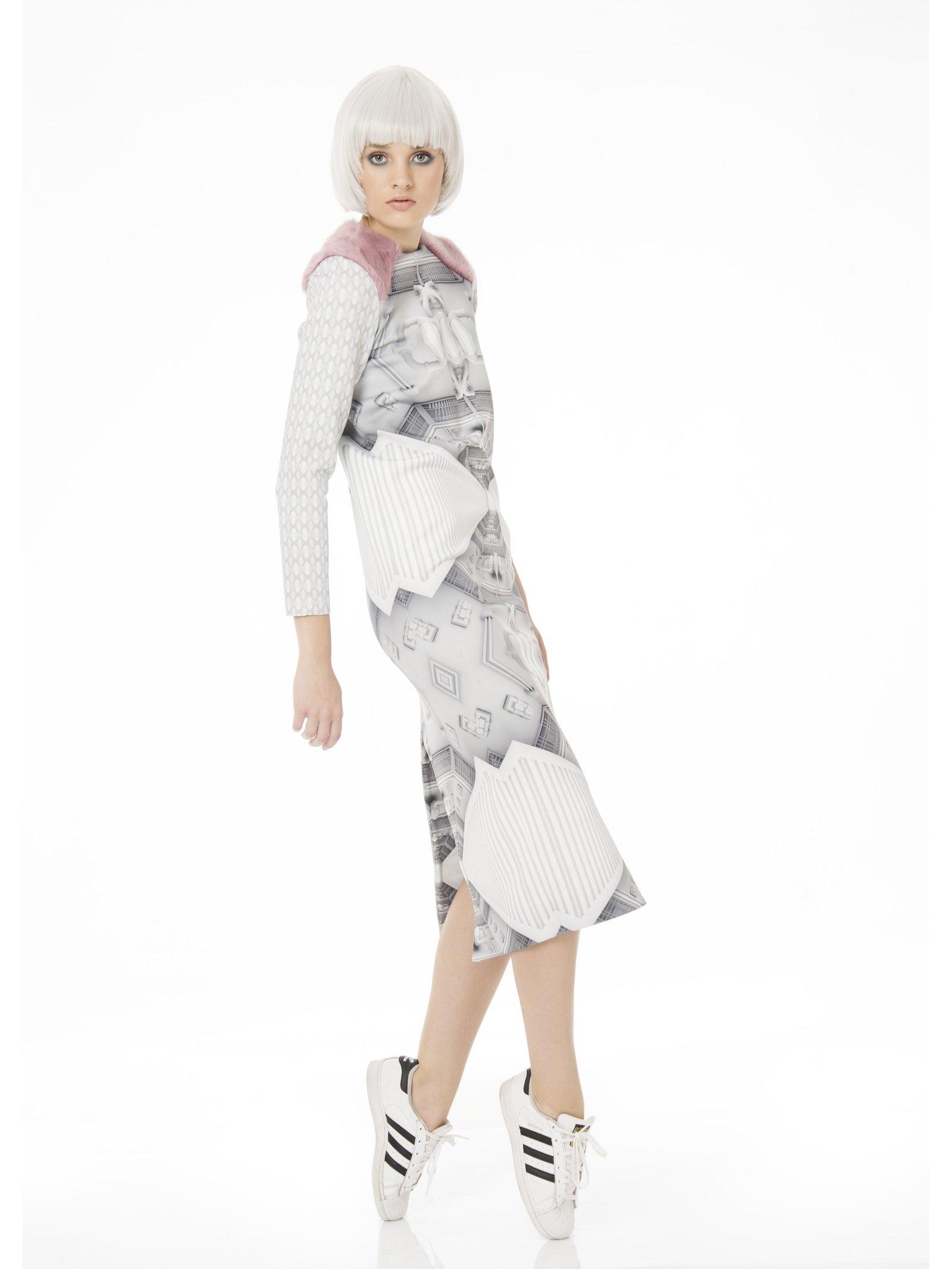 Ece Ozalp Spaceship Dress