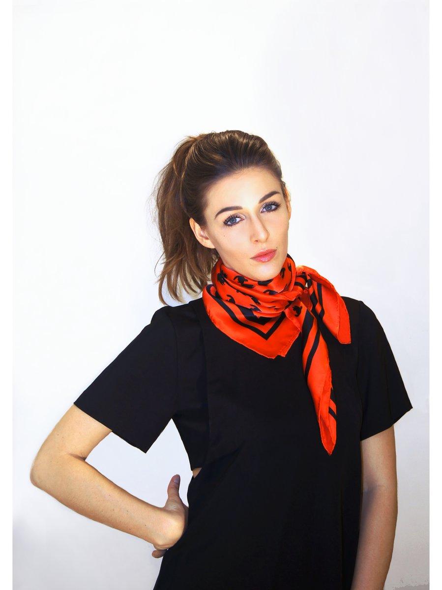 EMILIA MALA EMMA II – Silk Scarf