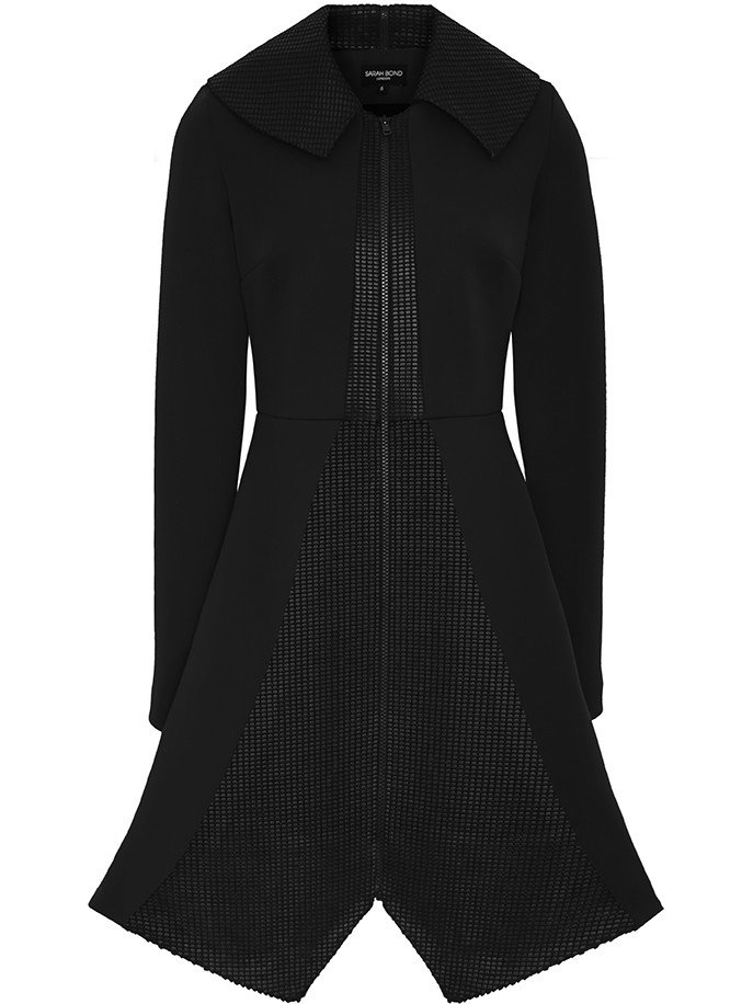 Sarah Bond Bo Bardi Black Coat