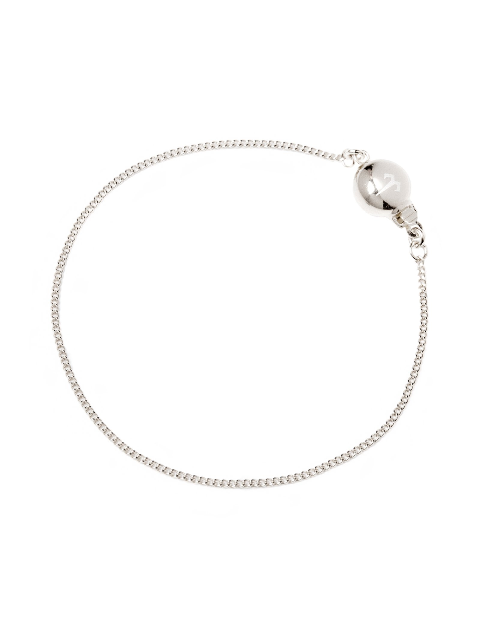 Ternary London DEEP ILLUSION STERLING SILVER CHAIN BRACELET