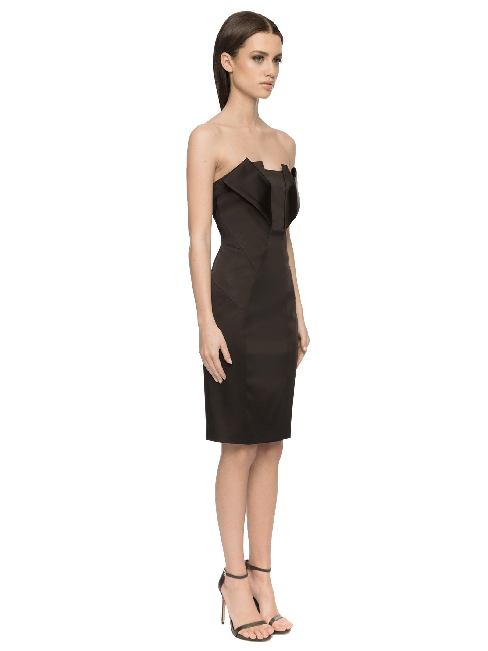 Aloura London Angel Dress Black