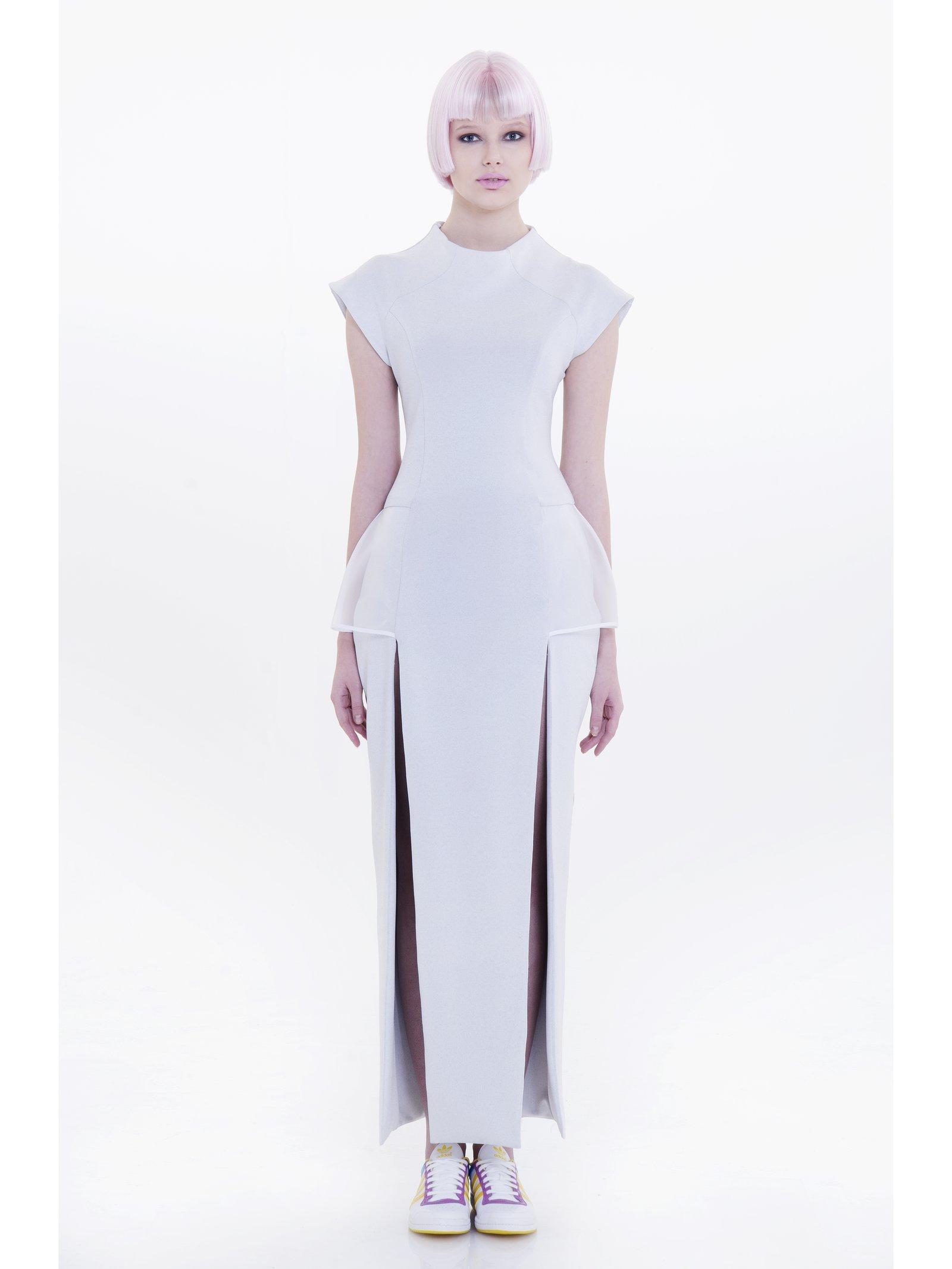Ece Ozalp No:1 – Sport Chic Grey Dress